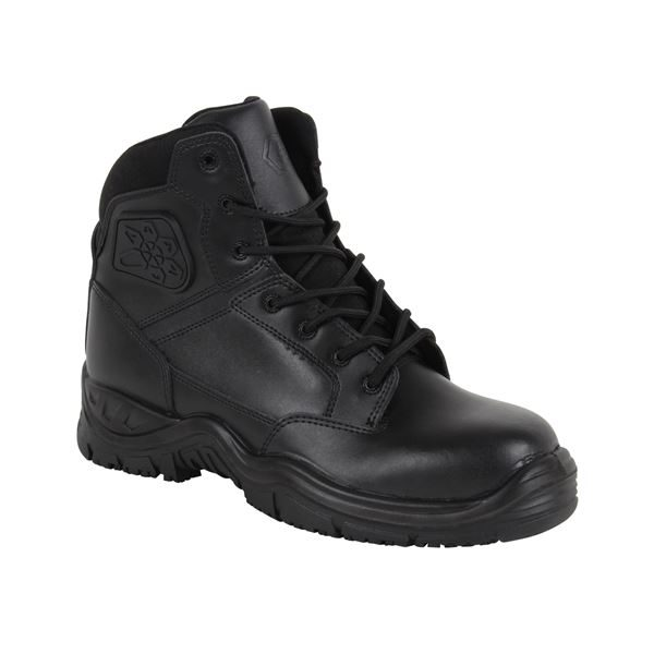 EMERGENCY SERVICE SAFETY BOOT BLACK