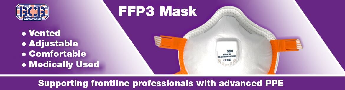 FFP3 with Valve PPE Protecting the protectors