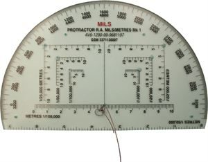 CD032_MILITARY PROTRACTOR
