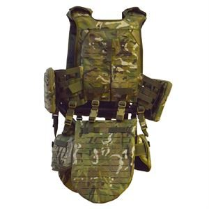 Kastall Pro Aqua Quick release body armour - front view