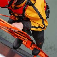 Rescue Ladder in use