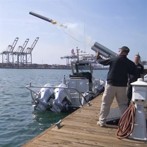 Specialist Equipment Including Boat Stopping Systems