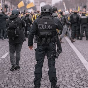 Police and security equipment - body armour, riot gear etc.