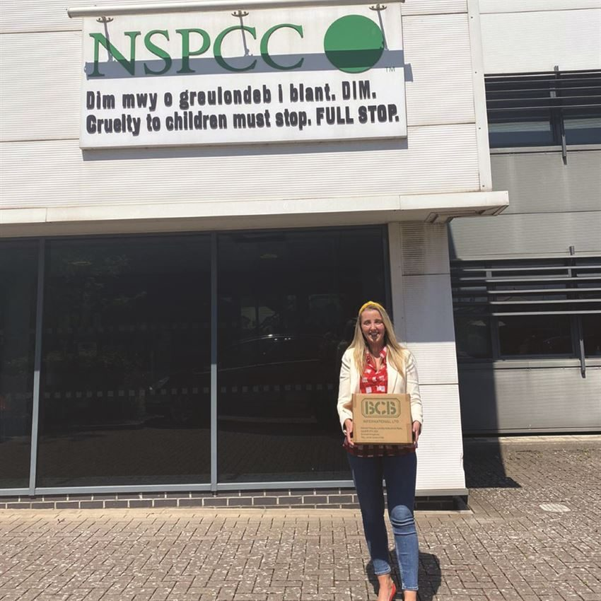 NSPPC Donation, BCB International