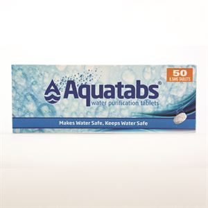 Water purification tablets (aquatabs)