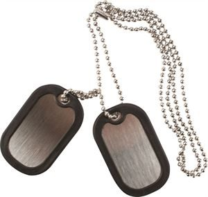 STAINLESS STEEL DOG TAG - (2)