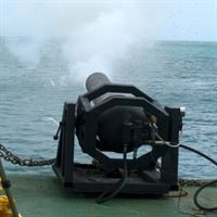Sea Stinger Boat Stopping System (BSS) being Fired